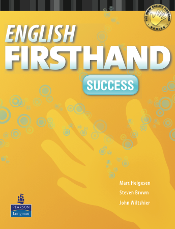 English Firsthand book cover